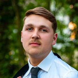 Junge Alternative - Rhein-Lahn, Justin Cedric Salka - Vorsitzender